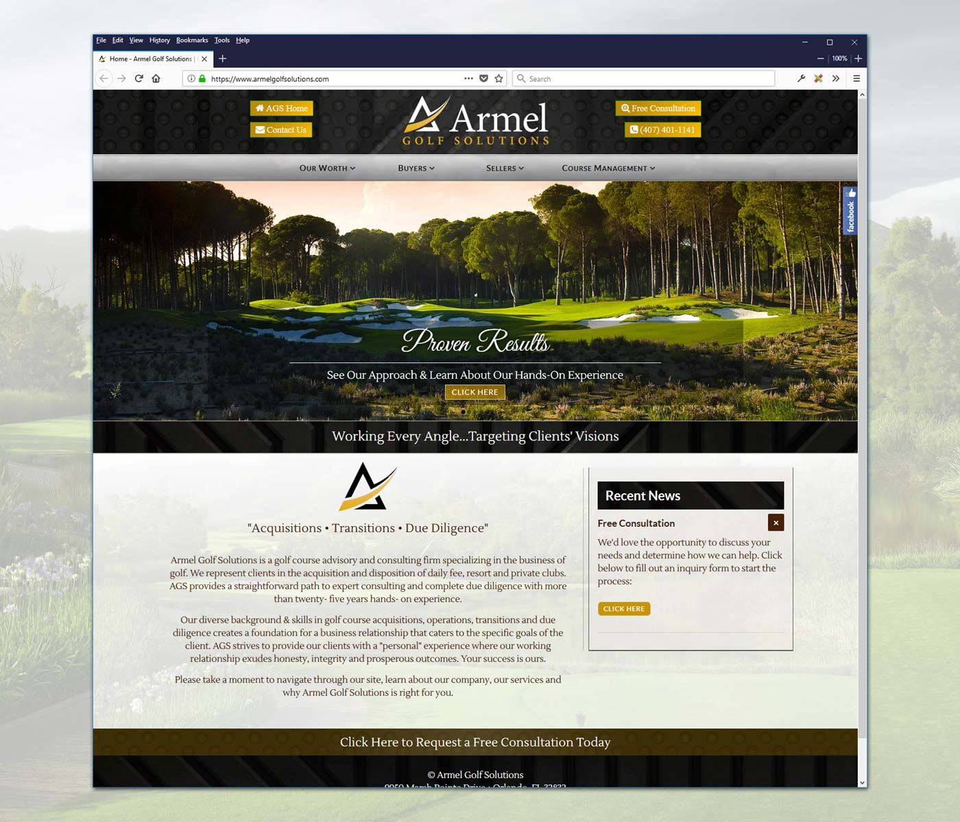Armel Golf Solutions